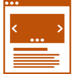 Illustration of a webpage
