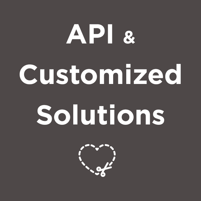 Banner for API & Customized Solutions